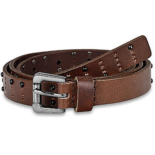 Pardigm Women's Brown Leather Belt - Option 1