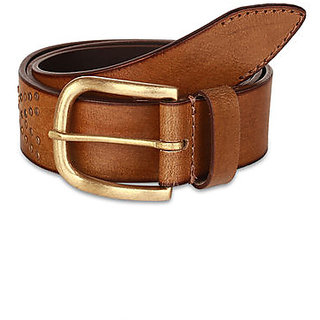 Pardigm Men's Leather Belt (Brown)
