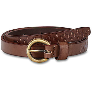 Pardigm Women's Brown Leather Belt - Option 2