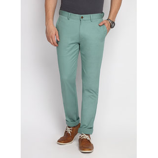 SUITLTD Moss Green Extra Slim Fit Twill Chino Pants