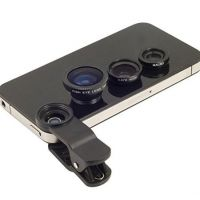 ProElite Universal Clip Type 3 In 1 Fish Eye, Wide Angle  Macro Lens For Mobile Phone IPhone 4S 5 5S 6 Plus Samsung Gal