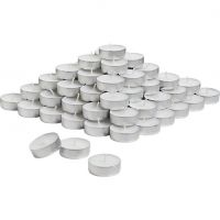 Home Shop Retails White Tealight Candle- Pack Of  80