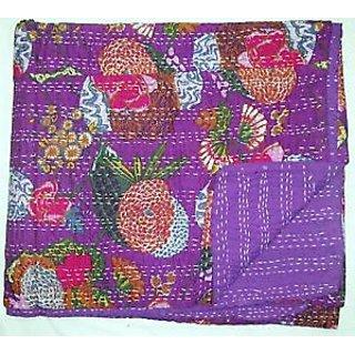 vintage sari fabric kantha quilts,Handmade vintage Quilts