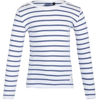 GRAIN Girls Striped Cotton Multicolor T-Shirts