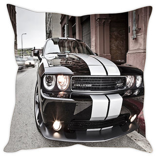 Fairshopping Cushion Cover 3 Cars  (PMCCWF0746)
