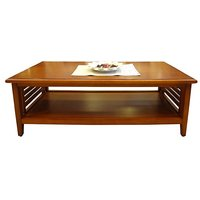 Designer Coffee Table - Centre Table - Teak Wooden Rectangular Shape
