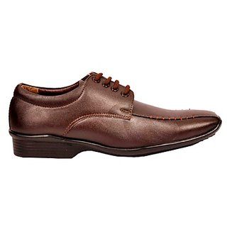 Foster Blue Trendy Brown Colored Men's Formal Shoes