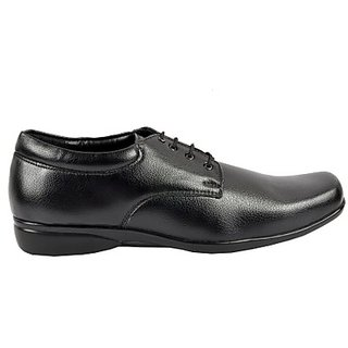 Foster Blue Voguish Black Colored Men's Formal Shoes