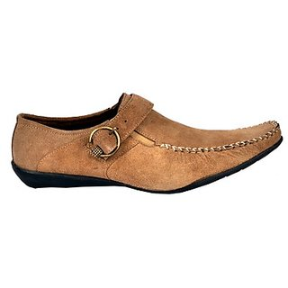 Foster Blue Vintage Trendy Brown Colored Men's Formal Shoes