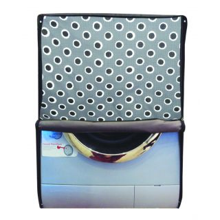 Glassiano Printed Waterproof  Dustproof Washing Machine Cover For Front Loading IFB Senorita Smart 6.5 KgWashing Machine