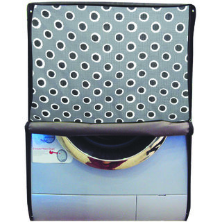 Glassiano Printed Waterproof  Dustproof Washing Machine Cover For Front Loading Samsung WW80J4213GS, 8 Kg Washing Machine