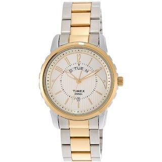 Timex Empera White Dial  Mens watch-TI000E31800