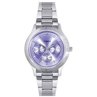 Timex E Class Purple Dial Womens watch-TI000Q80500