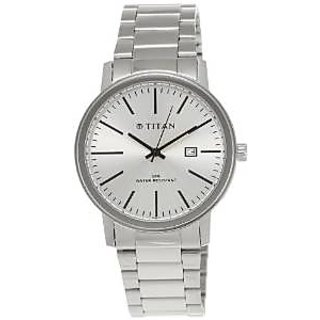 a8103a502ef6 Titan Tycoon Analog Silver Dial Mens Watch NE9440SM02J available at  ShopClues for Rs.3129
