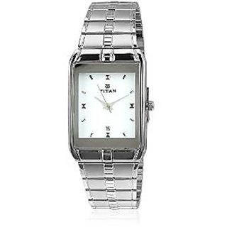 Titan Karishma Analog White Dial Mens Watch - NE9151SM01A