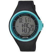 Sonata Ocean Digital Grey Dial Mens Watch - NE7992PP12J