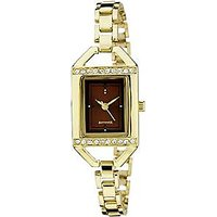 Sonata Analog Brown Dial Womens Watch - 87005YM01A