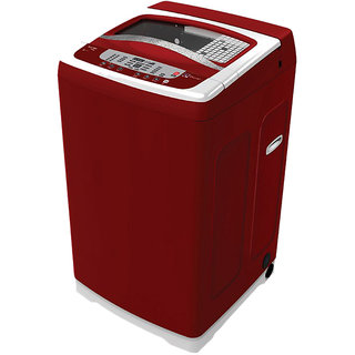 Electrolux  ET70ENERM 7 Kg Automatic Top Loading Washing Machine ( Red )