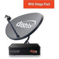 Dish TV SD+ Recorder Connection- Telugu (1 Month Titanium Pack)