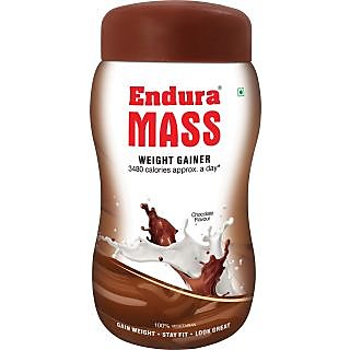 Stay Fit!! Upto 35% Off On Endura Mass  By Shopclues | Endura Mass Weight Gainer - Chocolate (500g) @ Rs.488