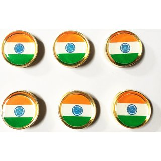 INDIAN BUTTON FLAG (PACK OF 6 PCS)