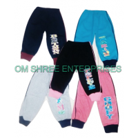 Multicolor Kids Track Pant With Rip (Set Of -5)