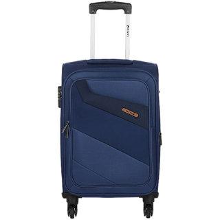 Safari Korrekt 55 Blue 4 Wheel Trolley