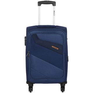 Safari Korrekt 65 Blue 4 Wheel Trolley