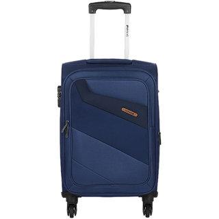 Safari Korrekt 75 Blue 4 Wheel Trolley