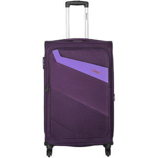 Safari Korrekt 55 Purple 4 Wheel Trolley