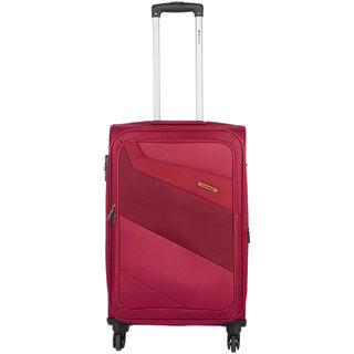Safari Korrekt 65 Red 4 Wheel Trolley