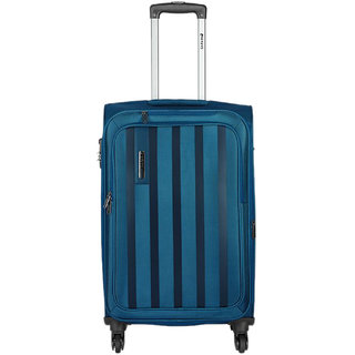 Safari Lino 75 Blue 4 Wheel Trolley