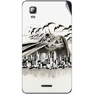 Snooky Digital Print Mobile Skin Sticker For Micromax Canvas Doodle 3 A102