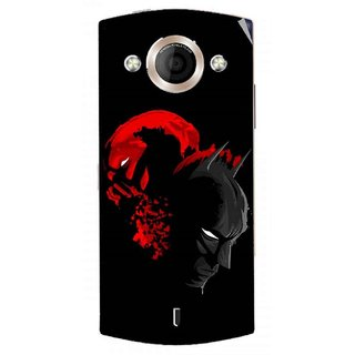 Snooky Digital Print Mobile Skin Sticker For Micromax Canvas Selfie A255