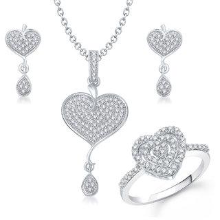 Meenaz Om Ganpati God Pendant With Chain Jewellery Set Gold Plated For MenWomen - Com13818