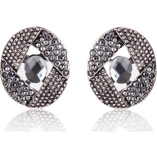 Shining Diva Non Plated Silver Studs For Women-CFJ6959er