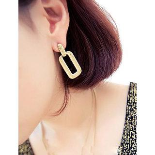 Shining Diva Non Plated Gold Dangle Earrings For Women-CFJ6956er