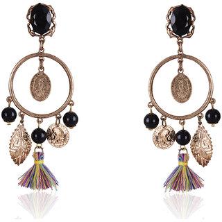Shining Diva Non Plated Multi Dangle Earrings For Women-CFJ6927er