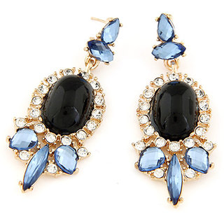 Shining Diva Non Plated Multi Dangle Earrings For Women-CFJ6973er