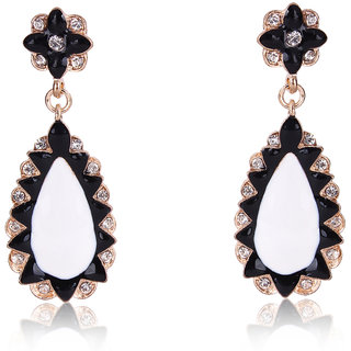 Shining Diva Non Plated Multi Dangle Earrings For Women-CFJ6971er