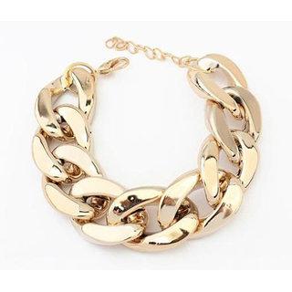 Shining Diva Non Plated Gold Charm Bracelets For Women-CFJ6259b