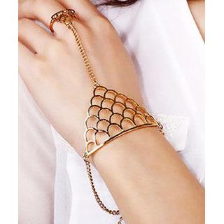 Shining Diva Non Plated Gold Charm Bracelets For Women-CFJ6265b