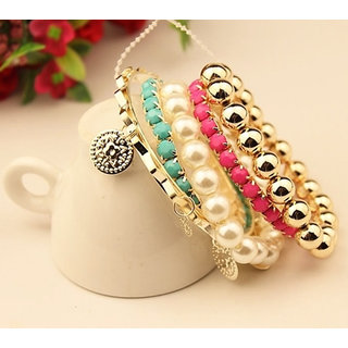 Shining Diva Non Plated Multi Bangles For Women-CFJ6351b