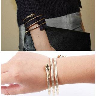 Shining Diva Non Plated Gold Bracelets For Women-CFJ7175b