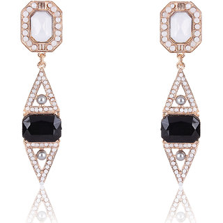 Shining Diva Non Plated Multi Dangle Earrings For Women-CFJ7007er