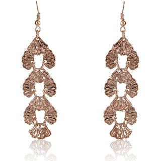 Shining Diva Non Plated Gold Dangle Earrings For Women-CFJ7012er