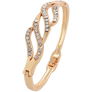 Shining Diva Non Plated Gold Charm Bracelets For Women-CFJ7236b