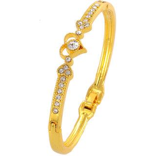 Shining Diva Non Plated Gold Charm Bracelets For Women-CFJ7240b