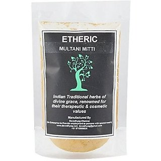 Etheric Pure FullerS Earth ( Multani Mitti) Powder (100 G)