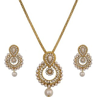 Pankh Brass Jewel Set